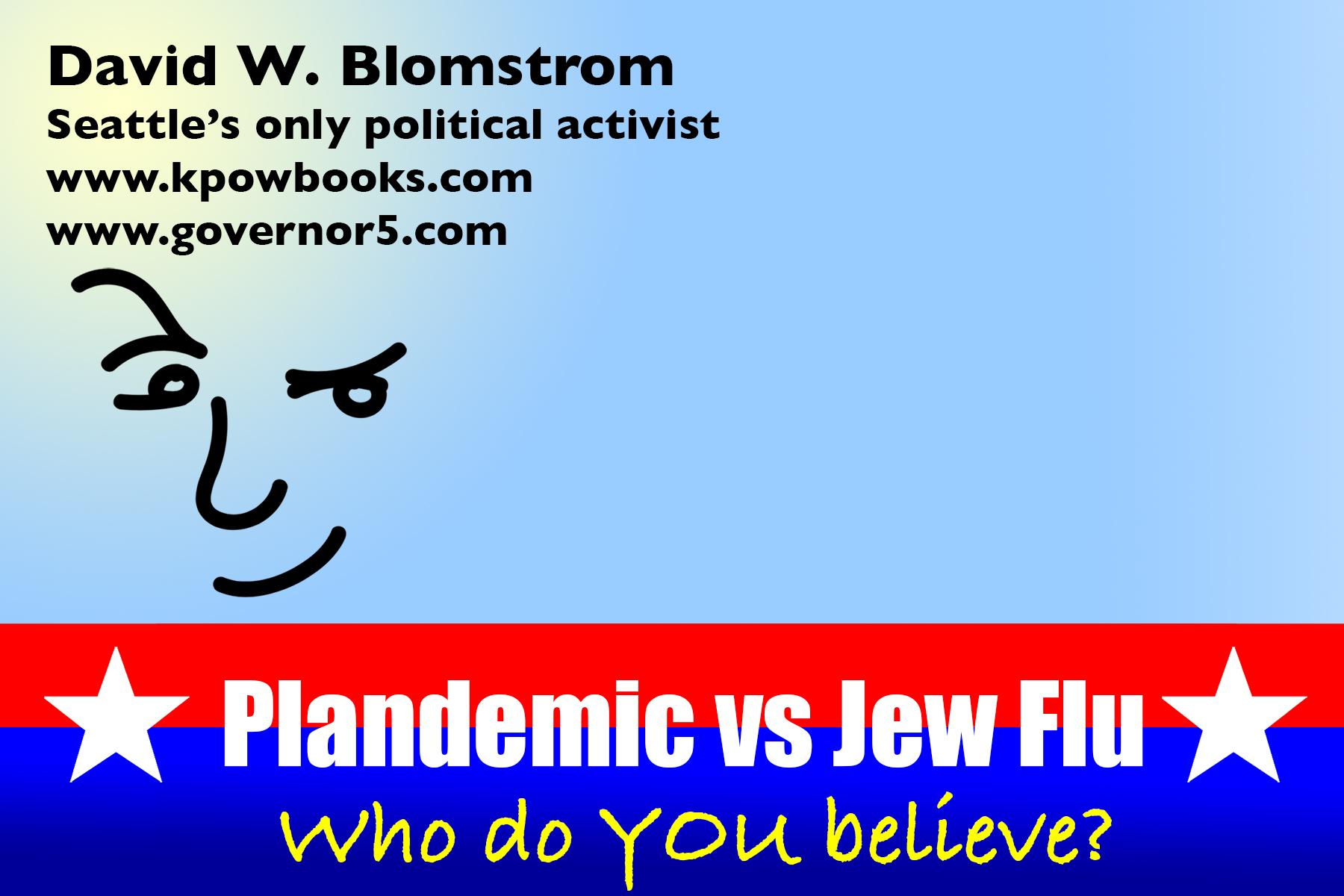 Jew Flu card (front)