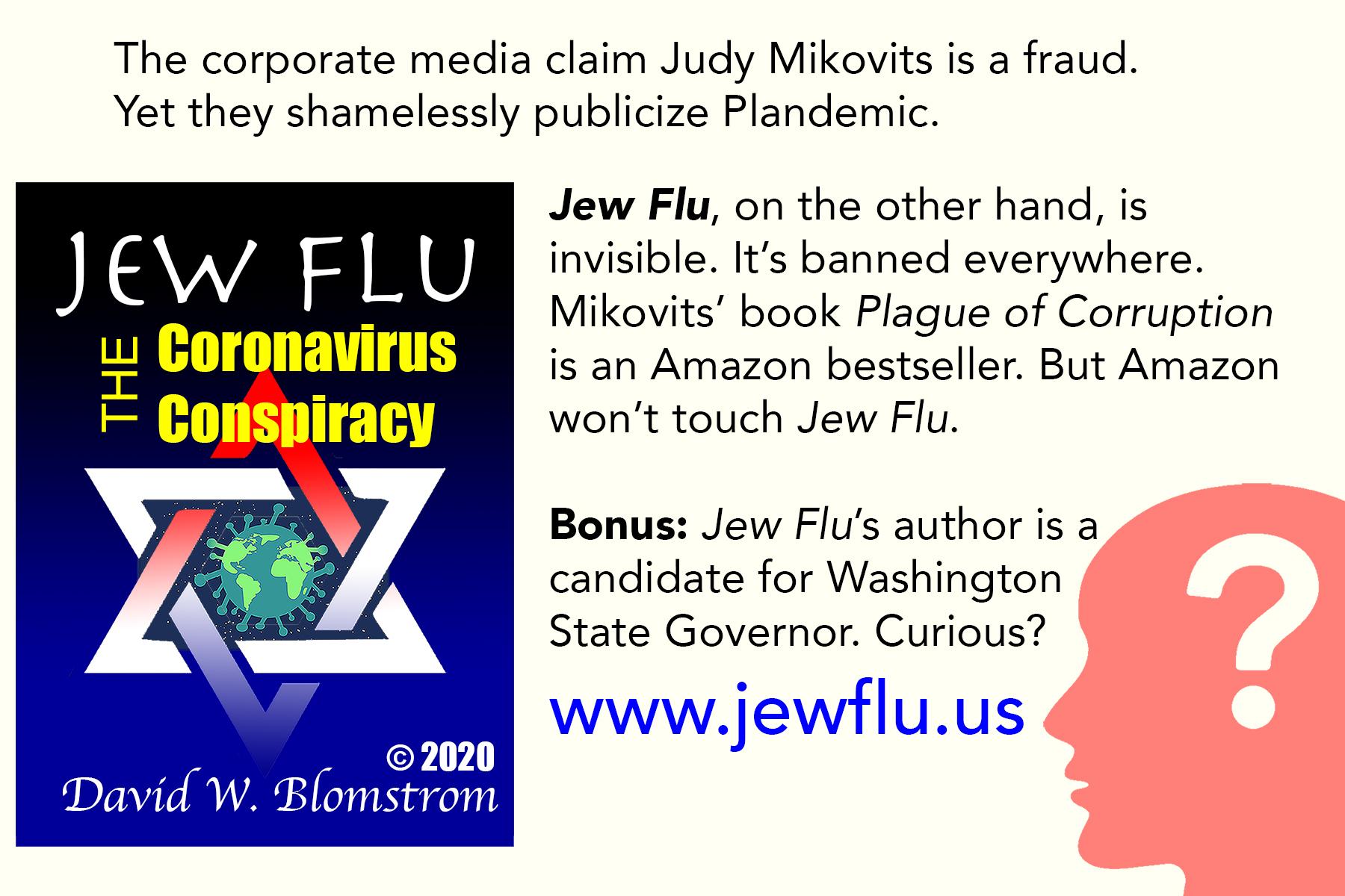 Jew Flu card (back)
